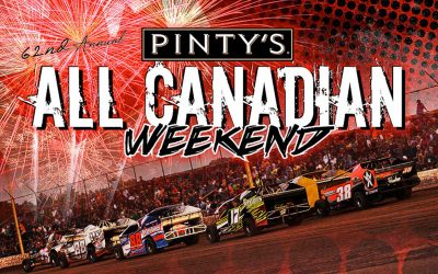 Pinty's to Present Three-Day All Canadian Championships at Humberstone Speedway