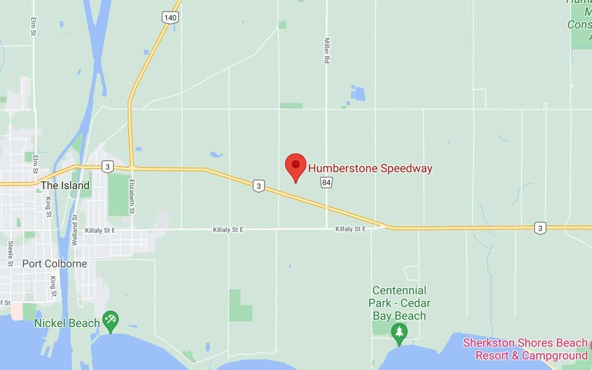Directions to Humberstone Speedway