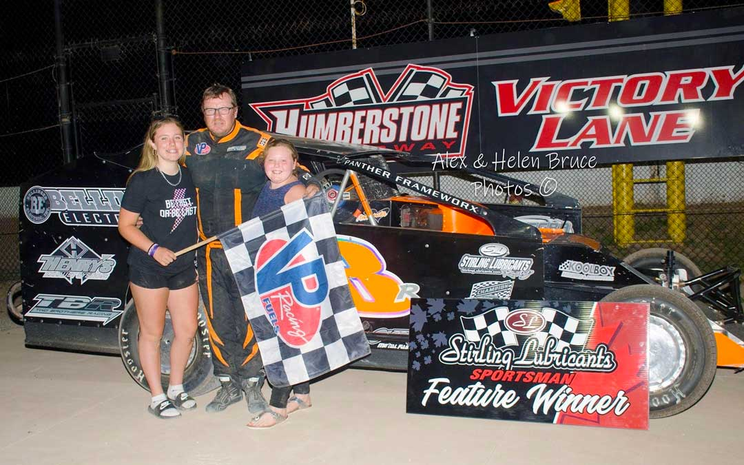 Rouse, Pennacchio, Fontaine, Lafantaisie, and Barbour Win on Nostalgia Night at Humberstone