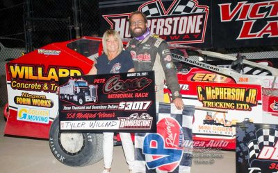 Tyler Willard Headlines Pete Cosco Memorial Winners at Humberstone Speedway