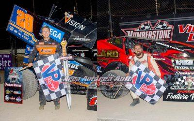 Cody McPherson, Jordan Poirier, Jacob Dykstra, Pete Reid, Tyler Lafantaisie Win Friday Night Special at Humberstone